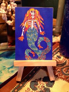 """New ACEO Limited Edition print """"The Siren's last song"""""""