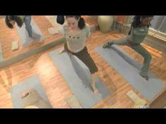 "▶ ""Inhale"" yoga with Steve Ross, 2010-04-08 - YouTube"