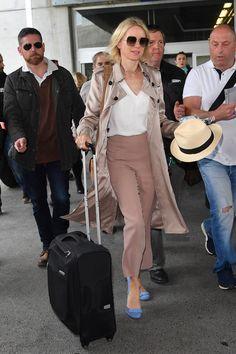 Naomi Watts lors de son arrivée à Cannes