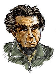Art by ironie portraying Emile M. Cioran, the philosopher who is the saint of nothingness, master of the French language and of pessimism. Emil Cioran, Great Philosophers, French Language, Dark, Frases, Authors, Philosophy, Thinking About You, French People