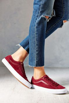 I might need these...Vans Suede 36 Slim Womens Low-Top Sneaker http://uggbootstore.blogspot.com/ All kinds of colorsfor ugg shoes #ugg#ugg boots#boots#winter boots $85.6-178.99