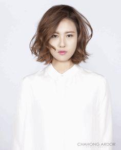 Spotlight wave #medium #hair #beauty #cut #chahongardor