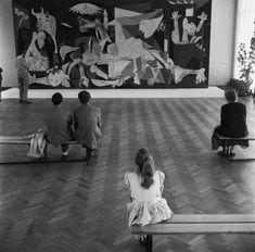 Pablo Picasso's Guernica in Amsterdam, 1956