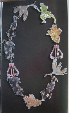 "fawnvelveteen: ""Schiaparelli's Zodiac necklace 1938 """