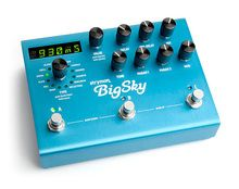 Buy Strymon BigSky Reverb effects pedal direct from Strymon. Fast shipping.