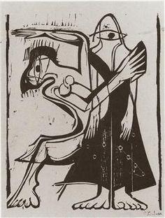 Mask Dance - Ernst Ludwig Kirchner