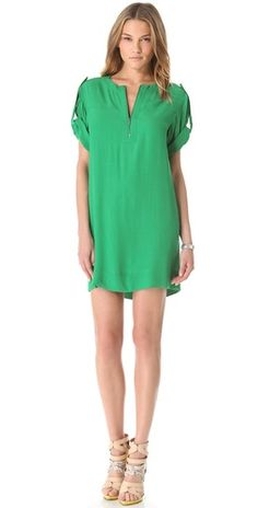 bcbgmaxazria frank dress in kelly green Love Fashion, Fashion Outfits, Bcbgmaxazria Dresses, Green Dress, Green Tunic, Get Dressed, Style Guides, Style Me, Clothes For Women