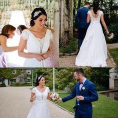 👰Award Winning Irish Wedding Dress & Bridal Designer Edel Tuite is a name synonymous with bespoke hand-crafted bridal design. Irish Wedding Dresses, Bridal Dresses, Got Married, Bespoke, Brides, Instagram Posts, Beautiful, Design, Fashion