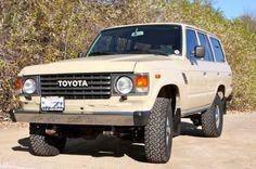 Toyota 4x4 Land Cruiser FJ 60 Dream car