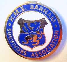 H.M.S. Barham Survivors Association, from the estate of MRW