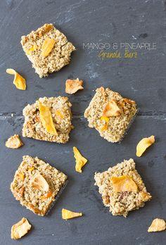 Mango and Pineapple Granola Bars   Annie's Noms