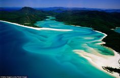 It's not a surprise the Whitsundays, known for its pristine waters and white sand, came in...