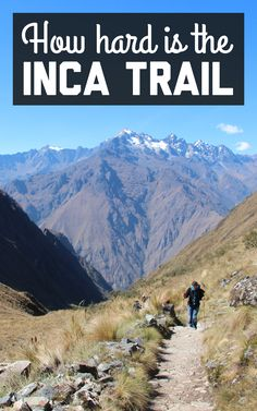 Just how hard is it to hike the Inca Trail? Find out about my Inca Trail experience on A Globe Well Travelled!