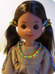 My favorite girl: Indian Maiden from Mattel (Sunshine Family Molds...1976 collection)