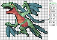 Pokemon 253 Grovyle /Massko