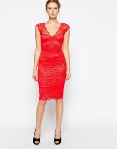 Jessica Wright Isla Lace Midi Dress I need this! Asos