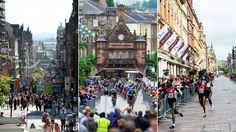 The streets of Glasgow city centre transformed. Buchanan Street morphed from shopping venue to scene of the men's time trial and women's marathon.