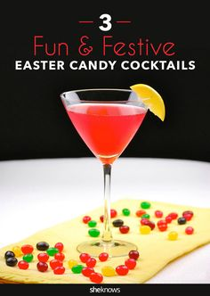 Candy-infused cocktails put your Easter stash to good use
