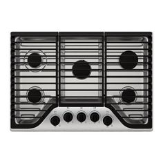 FRAMTID 5 burner gas cooktop IKEA 5-year Limited Warranty. Read about the terms in the Limited Warranty brochure.