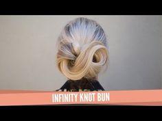 Infinity Knot Bun - YouTube