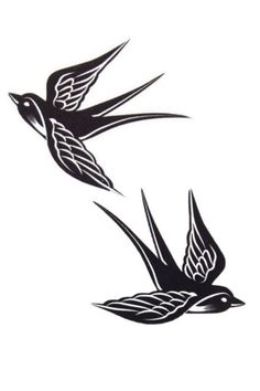 ideas swallow bird tattoo tribal for 2019 - # for . - ideas swallow bird tattoo tribal for 2019 swallow - Irezumi Tattoos, Tribal Bird Tattoos, Swallow Tattoo Design, Swallow Bird Tattoos, Bird Tattoo Foot, Foot Tattoos, Black Art Tattoo, Black Tattoos, Golondrinas Tattoo