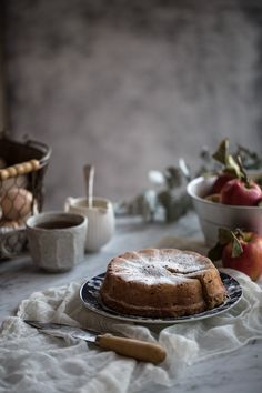 Apple+And+Almond+Cake