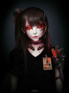 Arte Cyberpunk, Cyberpunk Girl, Cyberpunk Aesthetic, Cyberpunk Anime, Neon Aesthetic, Cyberpunk Fashion, Dark Fantasy Art, Character Concept, Character Art