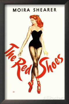 Scorsese: my friendship with Michael Powell THE RED SHOES, Directed by Powell and Pressburger, starring Moira Shearer. Click through for Martin Scorsese on his friendship with Michael Powell. Old Movies, Vintage Movies, Great Movies, Movies 2019, Vintage Ads, Vintage Posters, Martin Scorsese, Shoe Poster, I Love Cinema