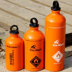 Fire Maple Outdoor Camping Portable Aluminum Gasoline Bottle Fuel Spare Storage Bottle 330ml 500ml 750ml