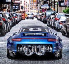 Porsche 911 (991) Targa 4 GTS