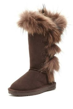 BEARPAW Whitney II Boot    these look soooo warm & fuzzy!!