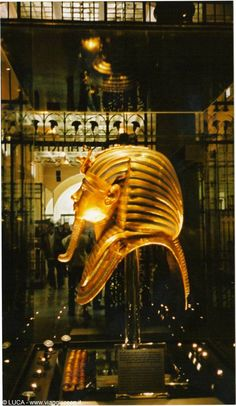 Ehen Isaw this in the Cairo Museum I was so amazed I began to cry. It is truly breathtaking.