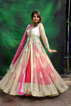 ♡beautiful anarkali .♥