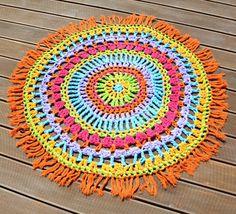 Crochet rug коврик крючком