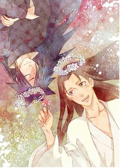 Madara Hashirama Smile Flowers Dream