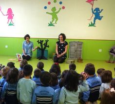 Sesiones de CUENTOS para los alumnos de 0 a 6 años del Colegio Salesiano María Auxiliadora Salamanca 27/01/2015