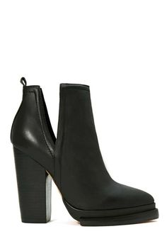 Jeffrey Campbell Who's Next Leather Boot #shoes