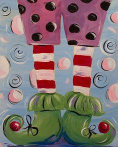 Santa's Helper 16 x 20 by DyanneParkerArt on Etsy, $95.00
