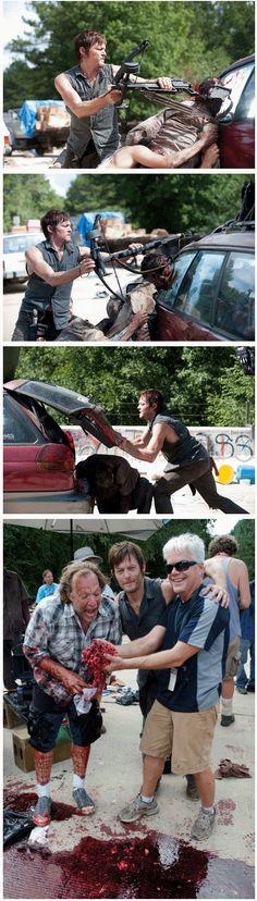 Daryl Dixon - Norman Reedus, The Walking Dead Walking Dead Zombies, Walking Dead Season, Fear The Walking Dead, I Love Series, Walking Dead Pictures, Daryl Dies, Top Tv Shows, Walking Dead Tv Series, Carl Grimes