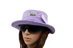 Mens / Womens Unisex Lacoste The Classic Crocodile Embroidery Logo Fisherman Adjustable Bucket Hat - Light Purple Lacoste Store, Mlb Baseball Caps, Animal Print Outfits, Knit Beanie, Keep Warm, Light Purple, Crocodile, Bucket Hat, Unisex