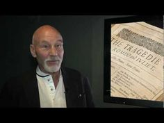 "Sir Patrick Stewart and the Shakespeare ""First Folio"" at Craven Museum and Gallery, Skipton - YouTube"