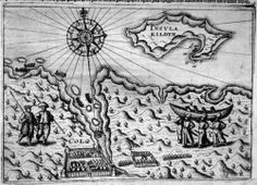 "Map from ""The Dutch on Nova Zembla"" (1596-1597)"