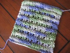 Crochet Dishcloth Patterns for Beginners   Crochet a Fun HDC Dishcloth for the Kitchen - Easy Crochet Dishcloth