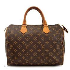 Loius Vuitton speedy handbag- my next purse purchase will be this!