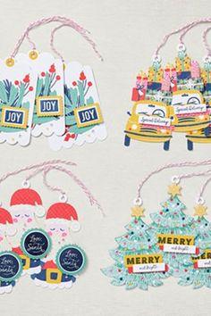 Unsere Set-Produktlinien richten sich vor allem an Bastelanfänger. Denn in den Pakete ist alles dabei und gleich kreativ zu werden. Neben Stempel und passender Farbe ist in diesem Set noch ganz viel vorgestanztes Material dabei. Einfach toll um spontan kreativ zu werden. #kreativierend #spontanbasteln #stampinup #su #kreativinrastede #bastelninrastede Santa Claus Is Coming To Town, Stampinup, Christmas Tag, Whimsical Christmas, Xmas, Christmas Ornaments, Coordinating Colors, Cute Halloween, Merry And Bright