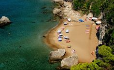 Myrtiotissa beach, Corfu