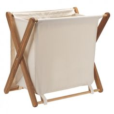 A luxurious take on traditional utility ware, the small Folding oak ecru canvas laundry bin has a solid oak frame that folds flat when not in use and a detachable cotton bag. Buy now at Habitat UK. Canvas Laundry Hamper, Laundry Bin, Small Laundry, Folding Structure, Folding Laundry Basket, White Laundry Rooms, Fur Decor, Storage Bins, Smart Storage