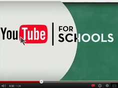 YouTube for Schools video | #education #oer