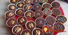 Vynikajúce a rýchle falošné šuhajdy. Výborné, ak ste v zhone, alebo máte doma niekoho alergického na orechy. Klasika je síce klasika, ale tento recept sa rozhodne tiež oplatí vyskúšať! Mini Cupcakes, Muffins, Breakfast, Christmas, Ale, Food, Yule, Muffin, Meal