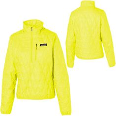 Patagonia Nano Puff Pullover Insulated Jacket - I want a down sweater, but this one is synthetic so much cheaper. The yellow would be good for the hunters...